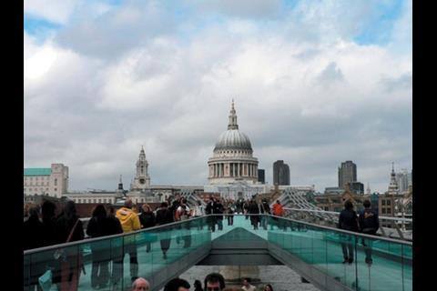 St Paul's as it appears now